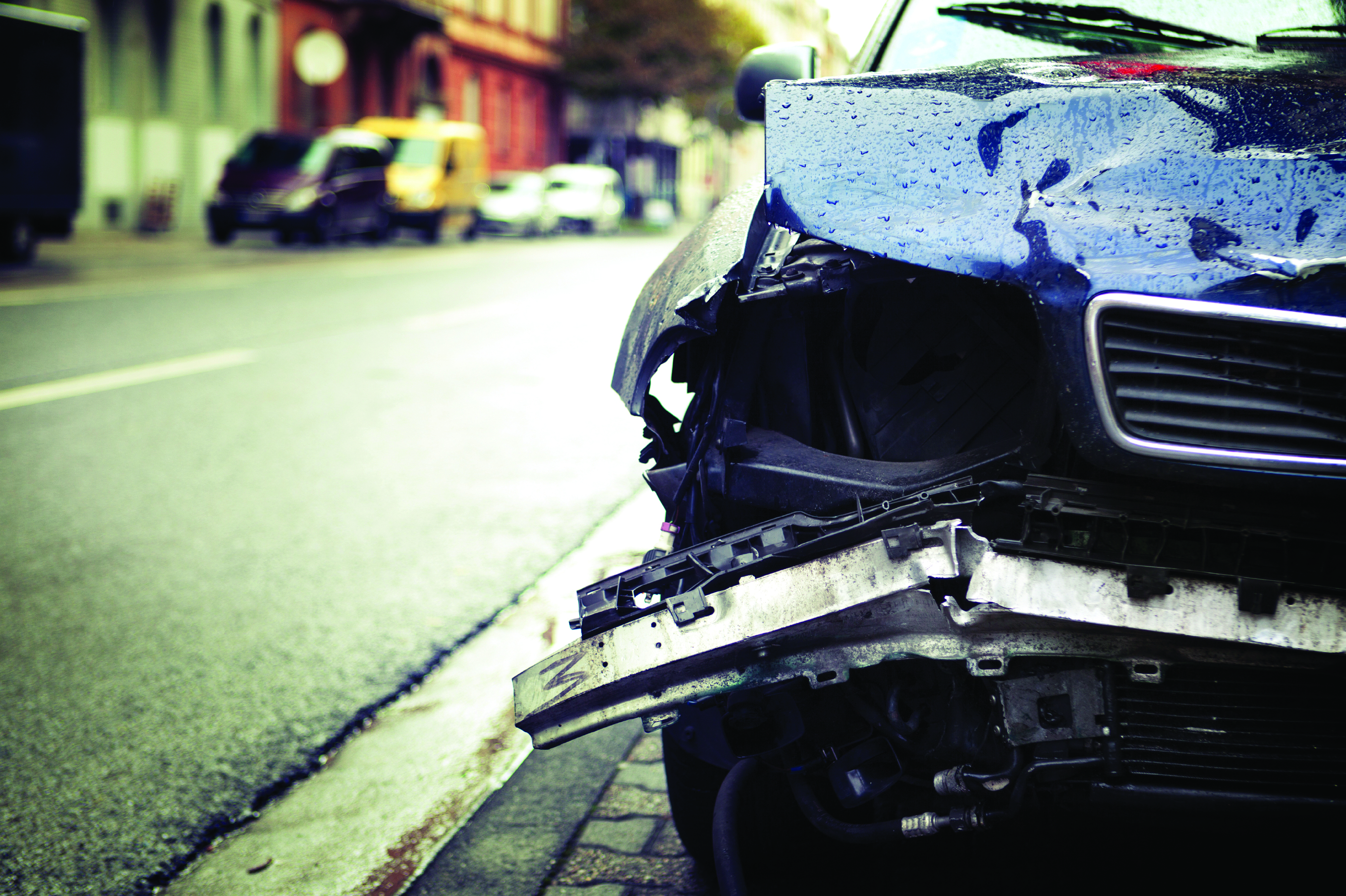 Hit and run car accident
