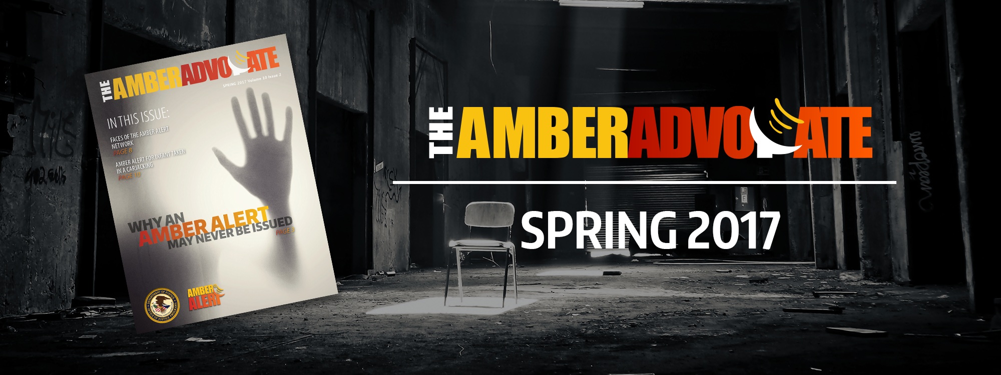 The AMBER Advocate Spring 2017 header