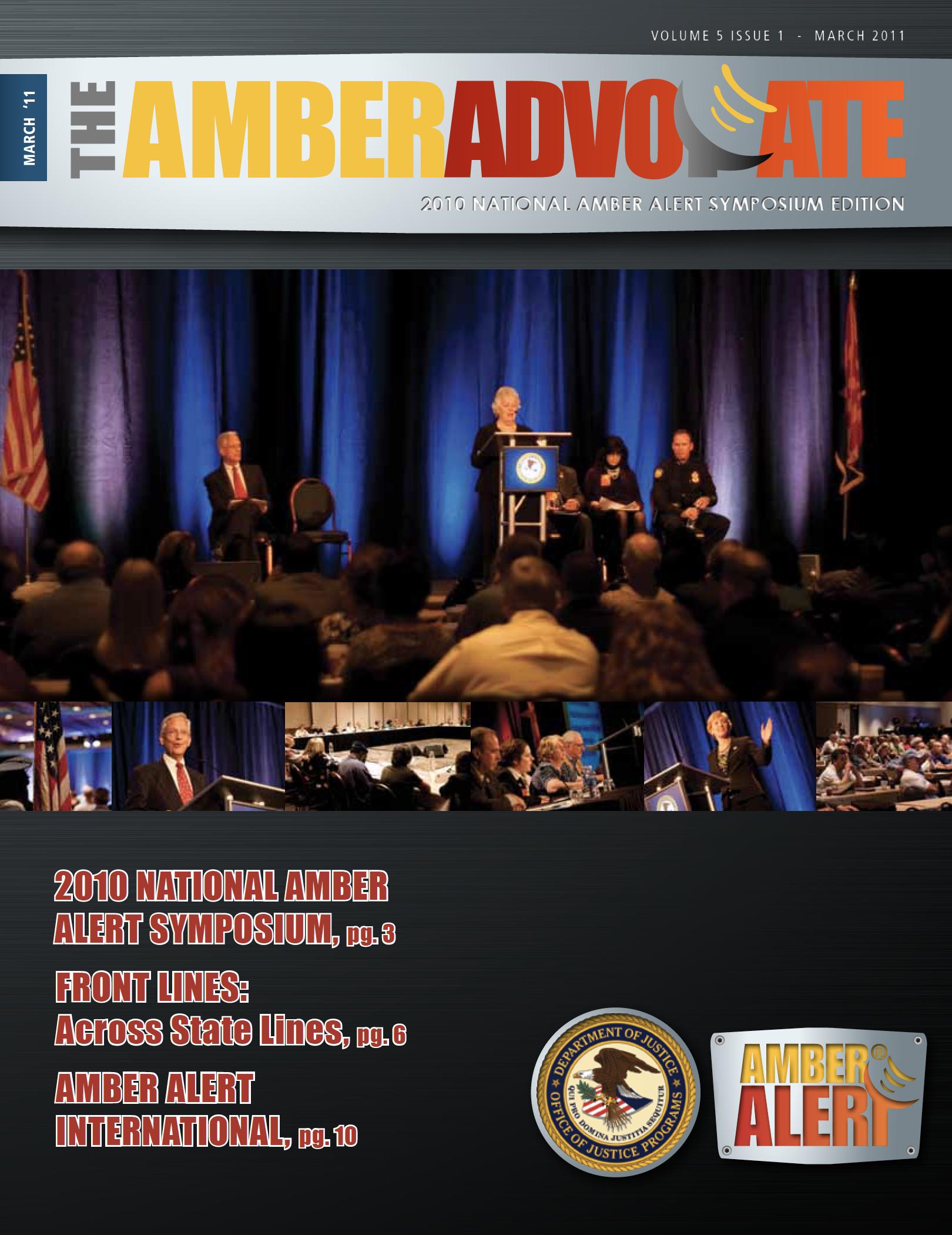AMBER Advocate 16 cover
