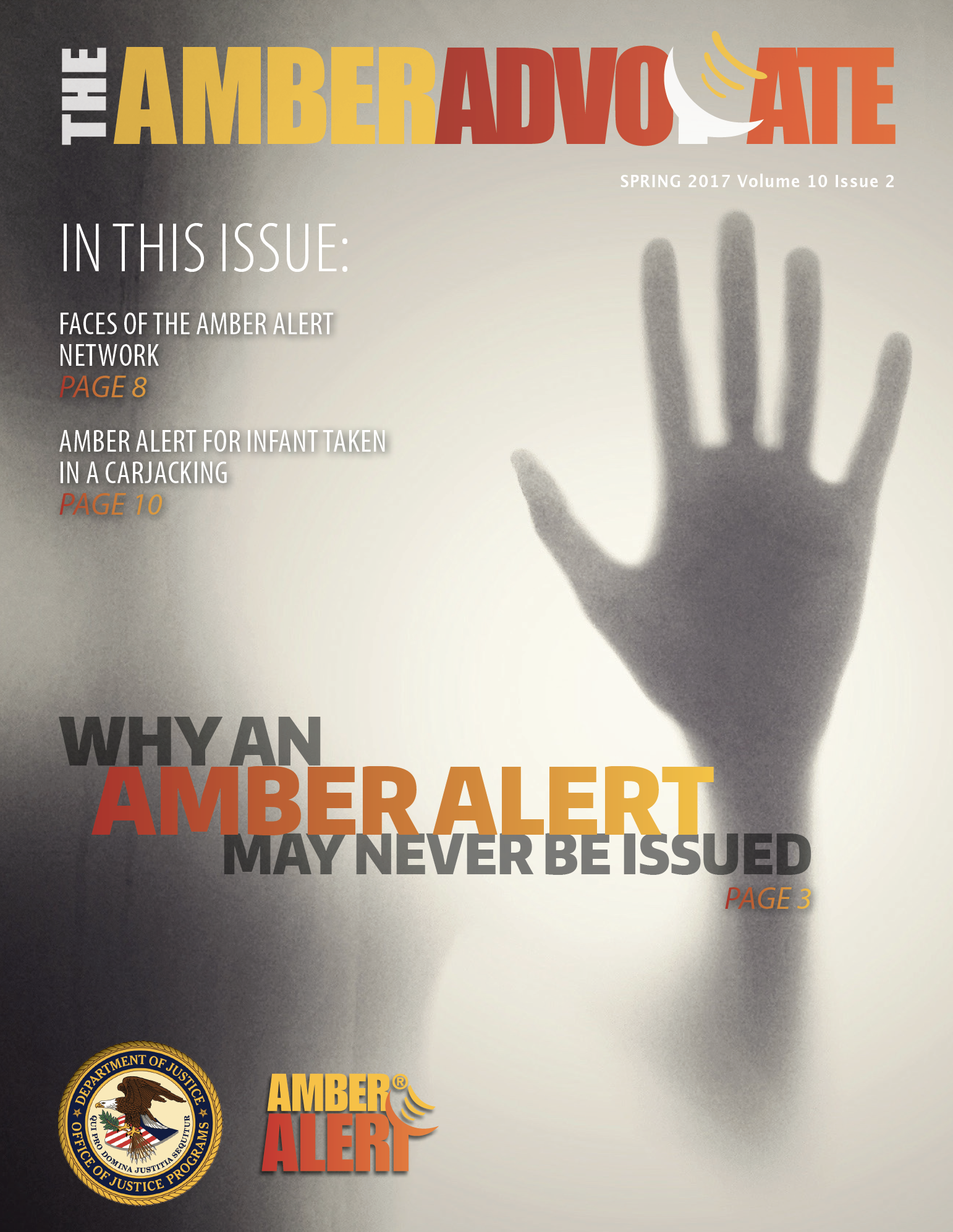 AMBER Advocate 30 cover