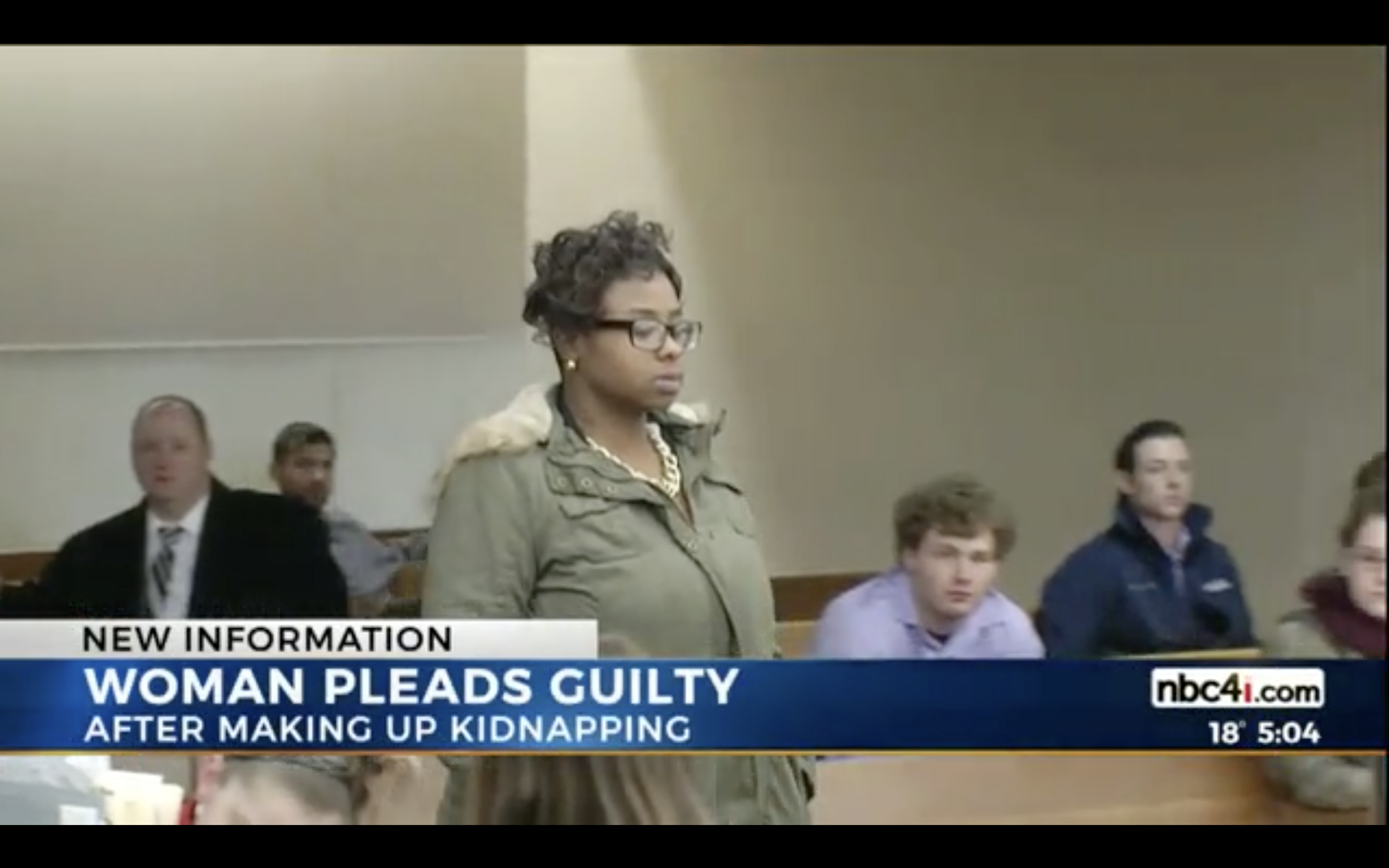 A Columbus, Ohio, woman pleads guilty