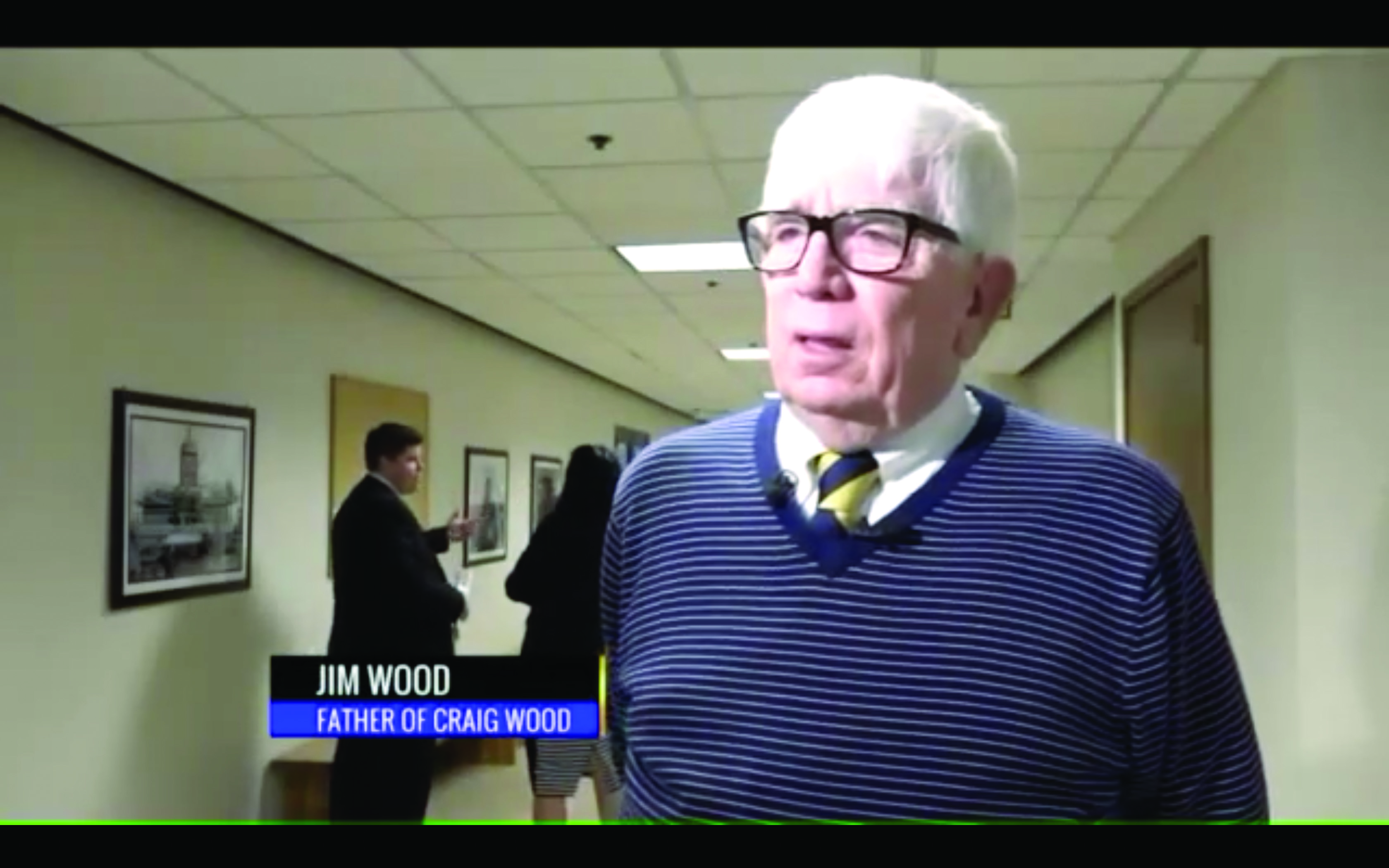 Jim Wood, father of Craig Wood