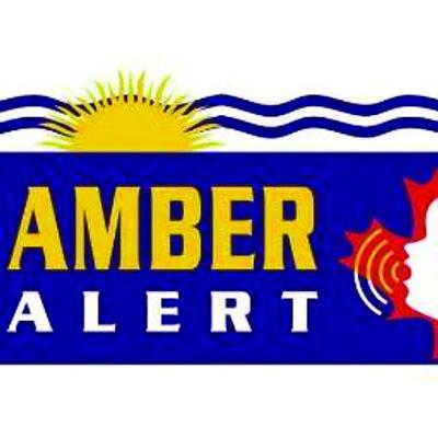 British Columbia AMBER Alert logo
