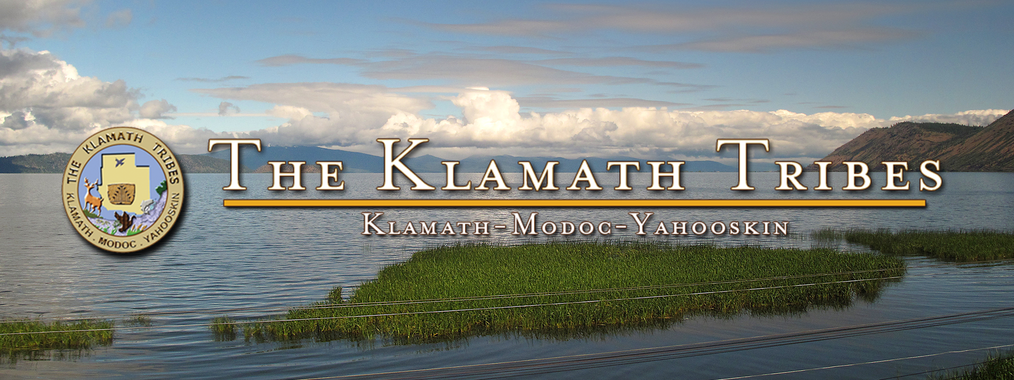 The Klamath Tribes Seal and logo
