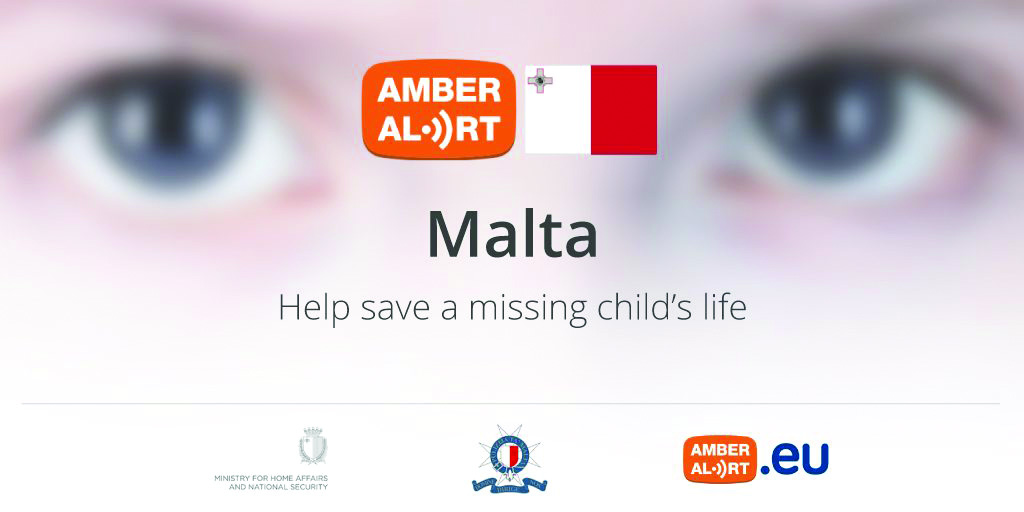 Malta AMBER Alert logo