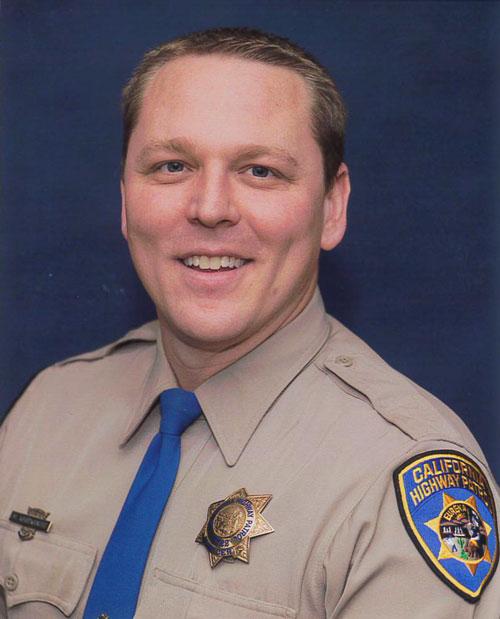 California Highway Patrol Sergeant Matt Whitworth